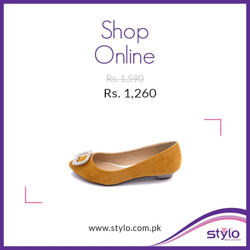 Stylo Shoes Latest Fall Winter Collection 2015 - Trendy Footwear For Women & Kids (18)
