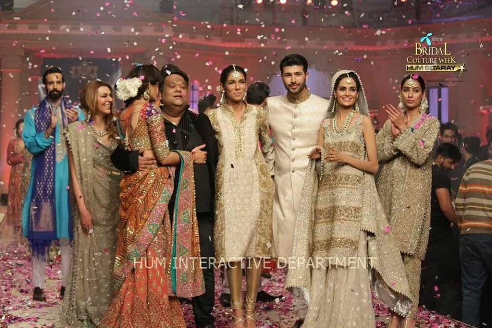 Umer Sayeed Bridal Collection,Telenor Bridal Couture Week 2014-2015  Famous Pakistani Designer Wedding Collections (11)