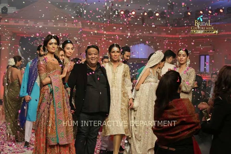 Umer Sayeed Bridal Collection,Telenor Bridal Couture Week 2014-2015  Famous Pakistani Designer Wedding Collections (12)