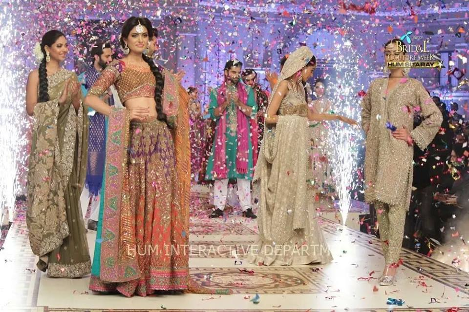 Umer Sayeed Bridal Collection,Telenor Bridal Couture Week 2014-2015  Famous Pakistani Designer Wedding Collections (16)