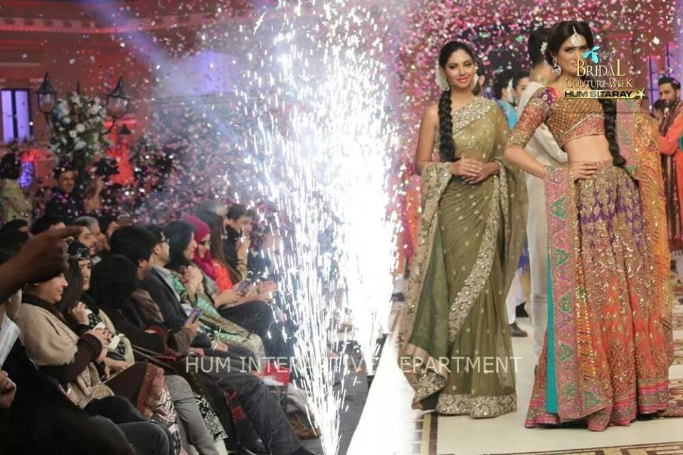 Umer Sayeed Bridal Collection,Telenor Bridal Couture Week 2014-2015  Famous Pakistani Designer Wedding Collections (17)