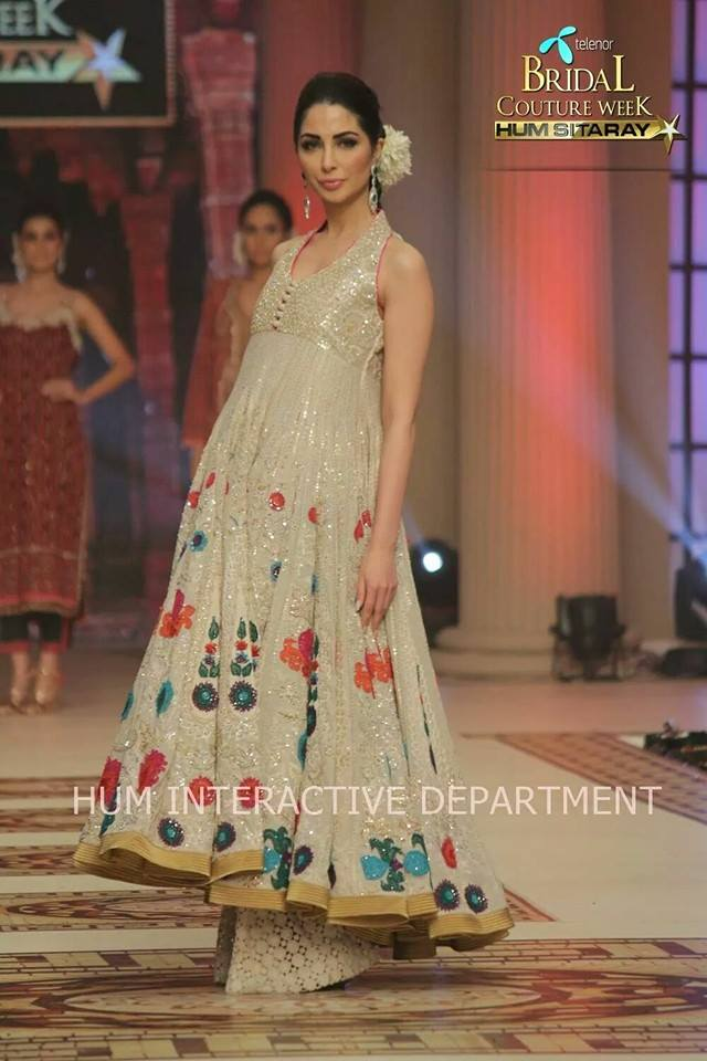 Umer Sayeed Bridal Collection,Telenor Bridal Couture Week 2014-2015  Famous Pakistani Designer Wedding Collections (2)