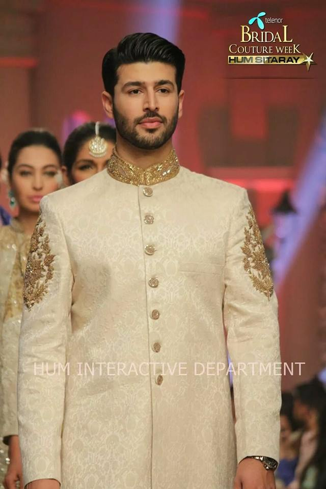 Umer Sayeed Bridal Collection,Telenor Bridal Couture Week 2014-2015  Famous Pakistani Designer Wedding Collections (22)