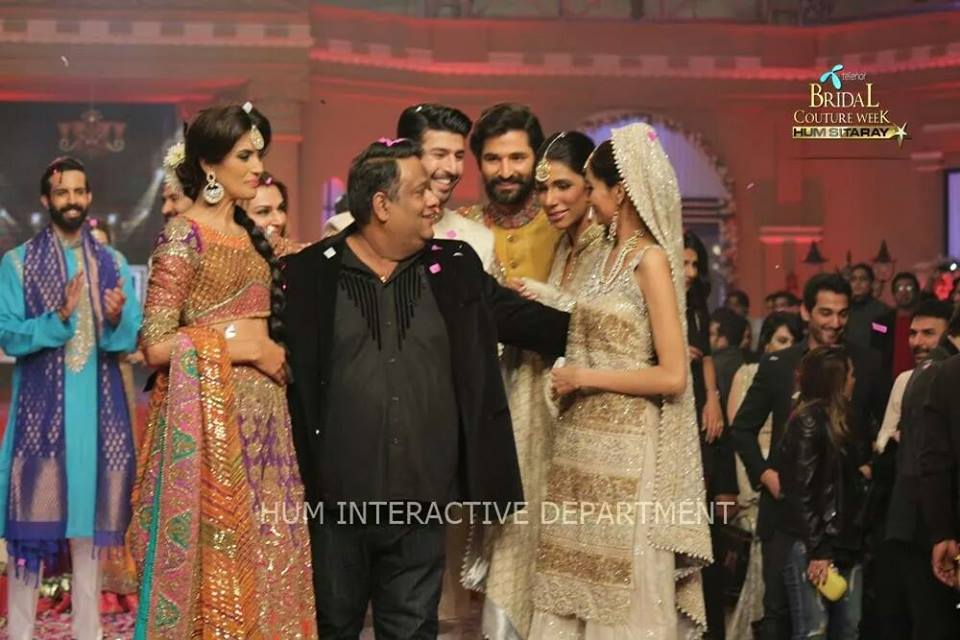 Umer Sayeed Bridal Collection,Telenor Bridal Couture Week 2014-2015  Famous Pakistani Designer Wedding Collections (25)