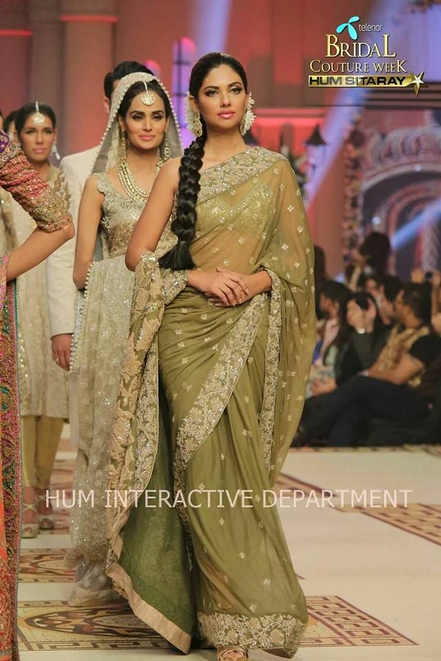 Umer Sayeed Bridal Collection,Telenor Bridal Couture Week 2014-2015  Famous Pakistani Designer Wedding Collections (26)