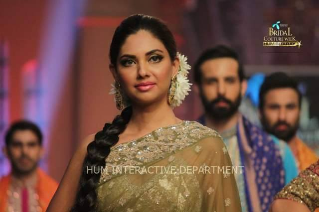 Umer Sayeed Bridal Collection,Telenor Bridal Couture Week 2014-2015  Famous Pakistani Designer Wedding Collections (27)