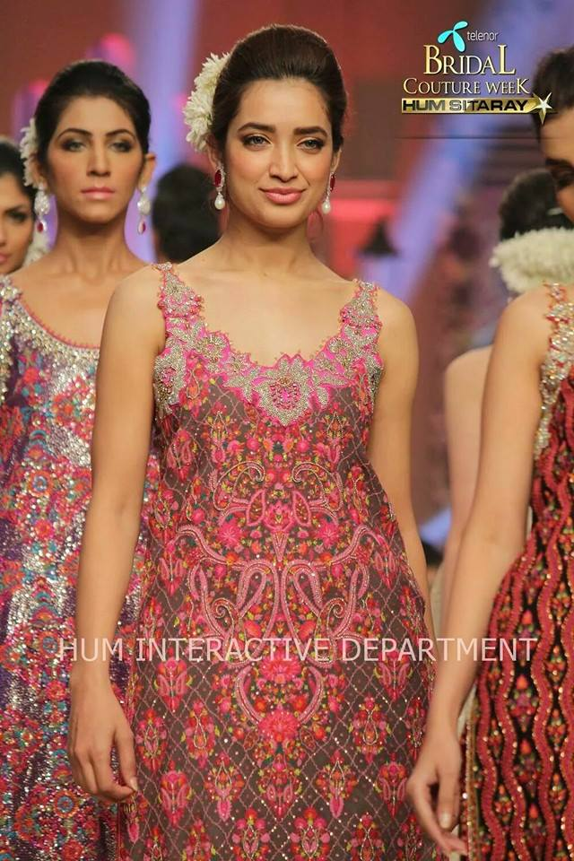 Umer Sayeed Bridal Collection,Telenor Bridal Couture Week 2014-2015  Famous Pakistani Designer Wedding Collections (28)