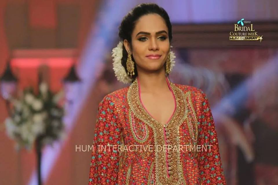 Umer Sayeed Bridal Collection,Telenor Bridal Couture Week 2014-2015  Famous Pakistani Designer Wedding Collections (29)