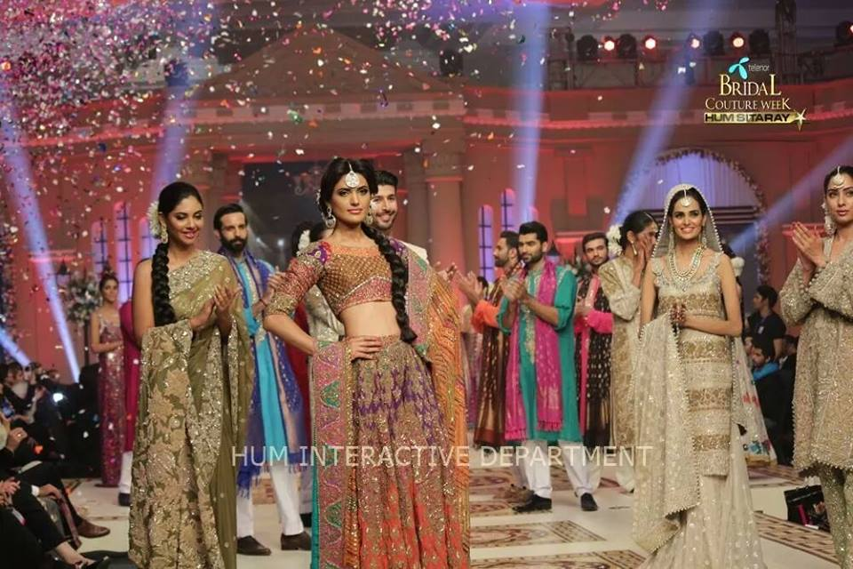 Umer Sayeed Bridal Collection,Telenor Bridal Couture Week 2014-2015  Famous Pakistani Designer Wedding Collections (3)