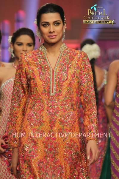 Umer Sayeed Bridal Collection,Telenor Bridal Couture Week 2014-2015  Famous Pakistani Designer Wedding Collections (32)