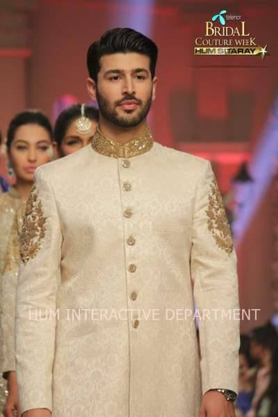 Umer Sayeed Bridal Collection,Telenor Bridal Couture Week 2014-2015  Famous Pakistani Designer Wedding Collections (37)