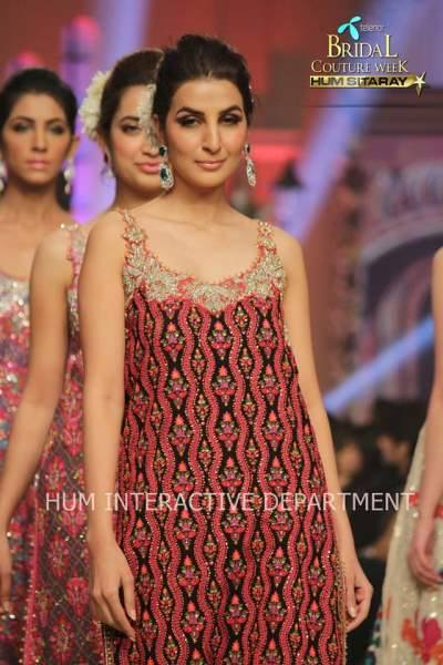 Umer Sayeed Bridal Collection,Telenor Bridal Couture Week 2014-2015  Famous Pakistani Designer Wedding Collections (39)