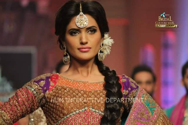 Umer Sayeed Bridal Collection,Telenor Bridal Couture Week 2014-2015  Famous Pakistani Designer Wedding Collections (40)