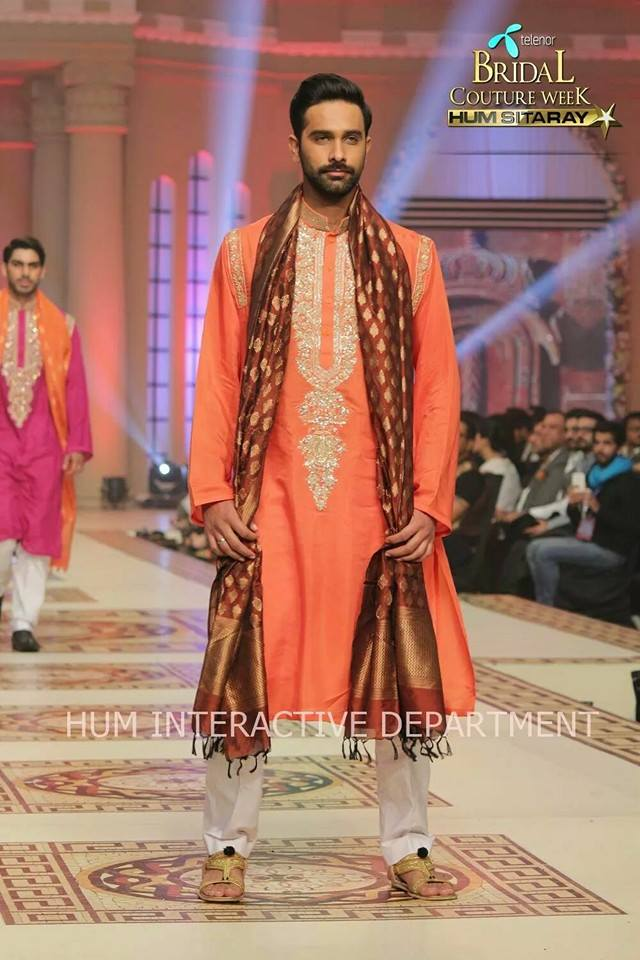 Umer Sayeed Bridal Collection,Telenor Bridal Couture Week 2014-2015  Famous Pakistani Designer Wedding Collections (5)