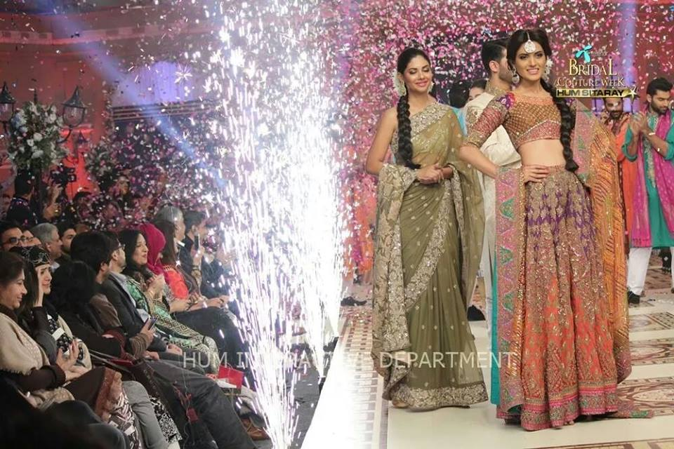 Umer Sayeed Bridal Collection,Telenor Bridal Couture Week 2014-2015  Famous Pakistani Designer Wedding Collections (8)