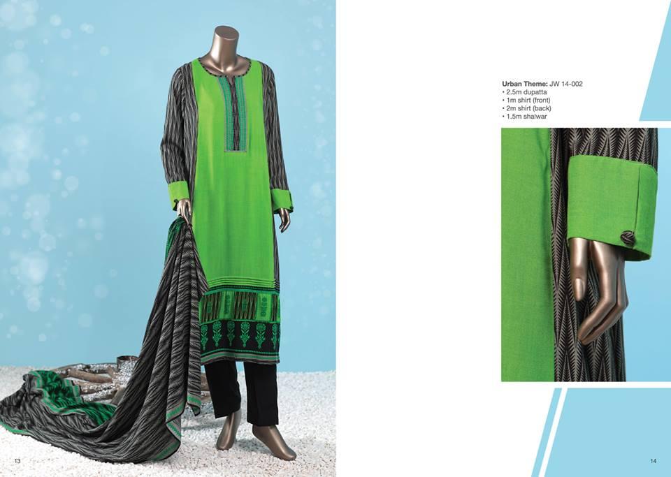 J. Junaid Jamshed Latest Pret Wear Fancy Dresses Collection for Women 2015-2016 (1)