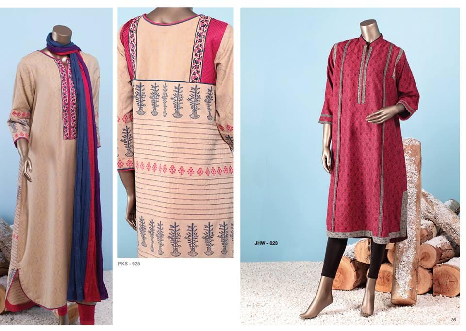 J. Junaid Jamshed Latest Pret Wear Fancy Dresses Collection for Women 2015-2016 (10)