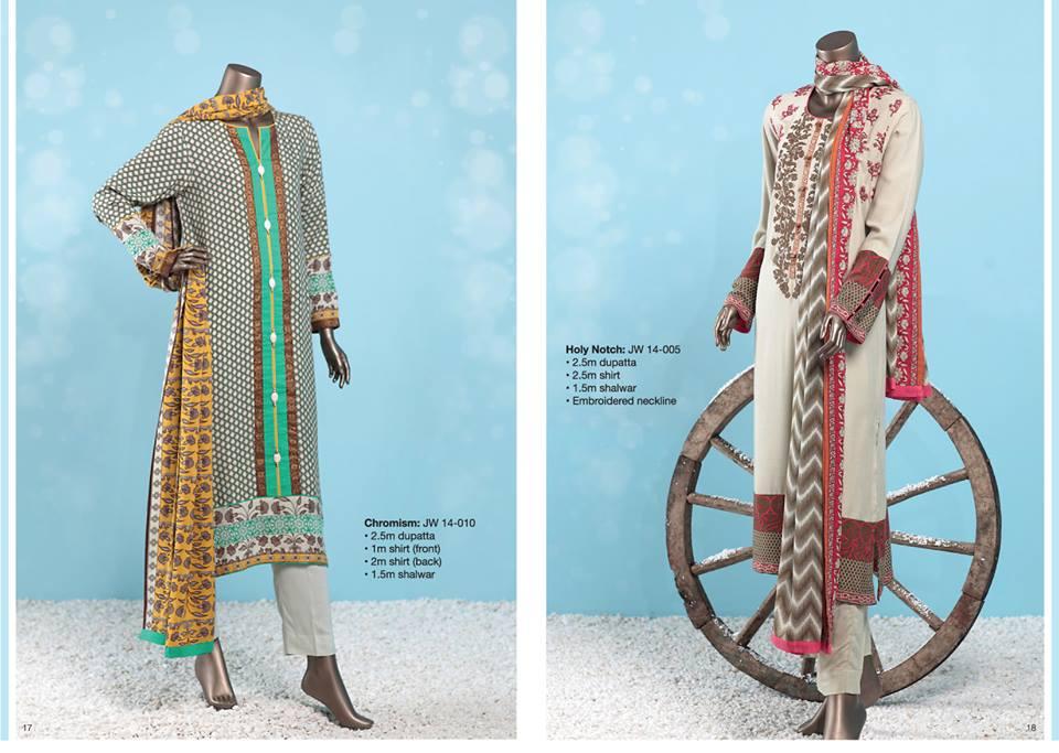 J. Junaid Jamshed Latest Pret Wear Fancy Dresses Collection for Women 2015-2016 (11)