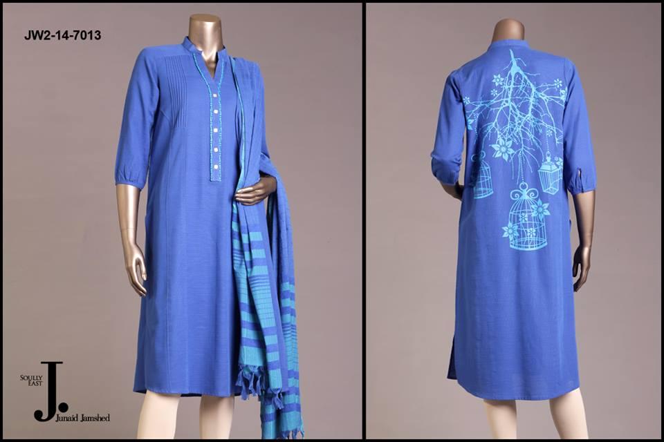 J. Junaid Jamshed Latest Pret Wear Fancy Dresses Collection for Women 2015-2016 (12)