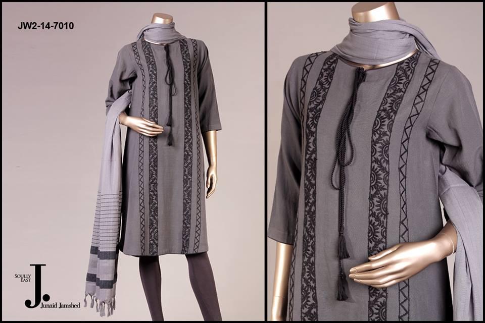 J. Junaid Jamshed Latest Pret Wear Fancy Dresses Collection for Women 2015-2016 (13)