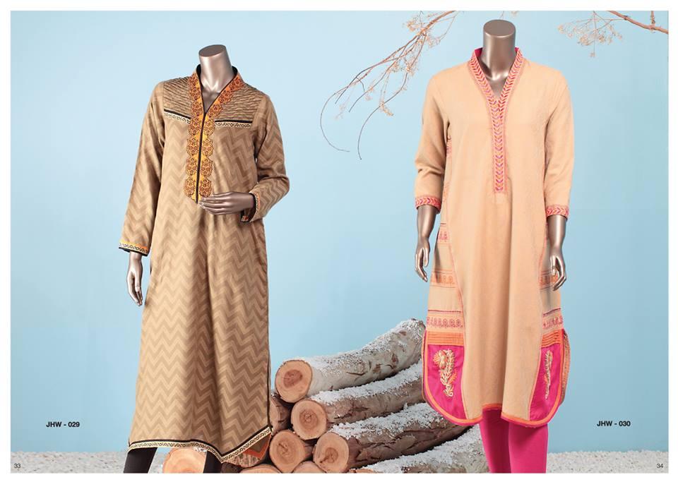 J. Junaid Jamshed Latest Pret Wear Fancy Dresses Collection for Women 2015-2016 (15)