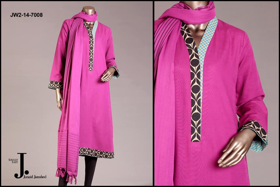 J. Junaid Jamshed Latest Pret Wear Fancy Dresses Collection for Women 2015-2016 (18)