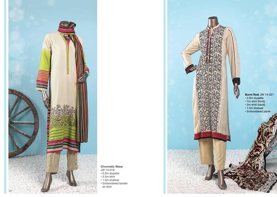 J. Junaid Jamshed Latest Pret Wear Fancy Dresses Collection for Women 2015-2016 (20)