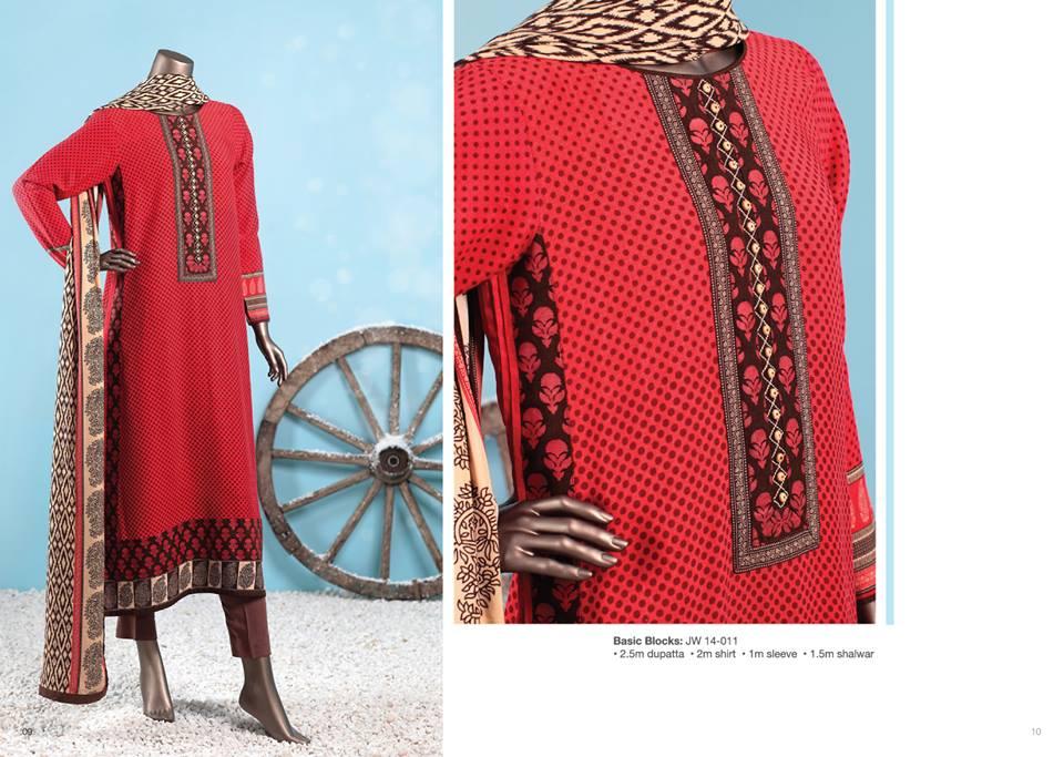 J. Junaid Jamshed Latest Pret Wear Fancy Dresses Collection for Women 2015-2016 (21)