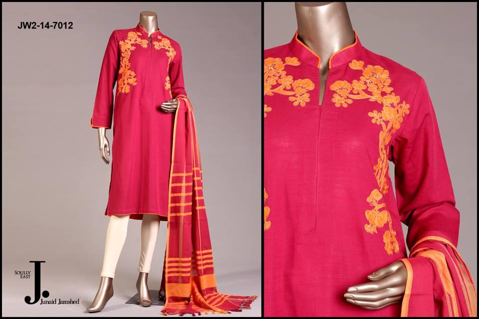 J. Junaid Jamshed Latest Pret Wear Fancy Dresses Collection for Women 2015-2016 (22)