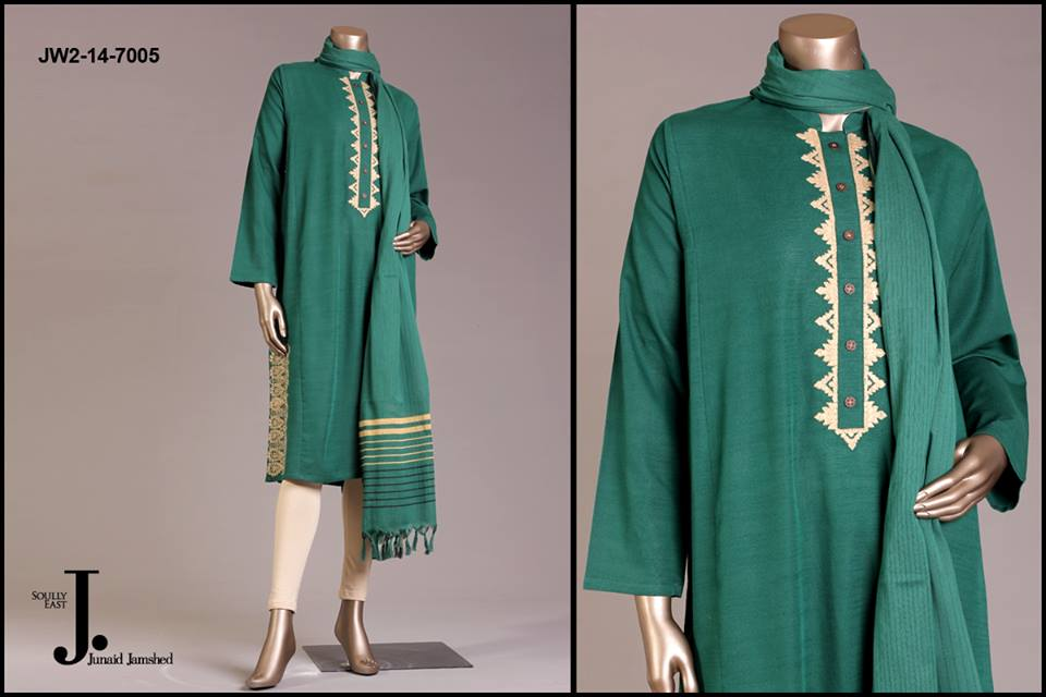 J. Junaid Jamshed Latest Pret Wear Fancy Dresses Collection for Women 2015-2016 (25)