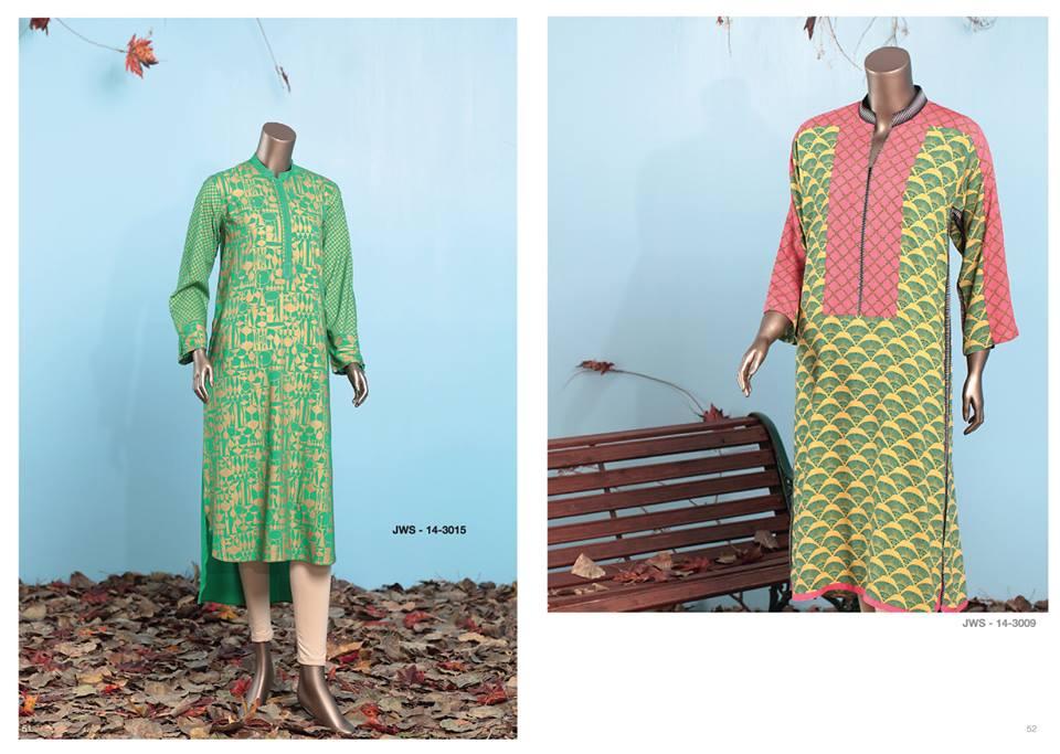 J. Junaid Jamshed Latest Pret Wear Fancy Dresses Collection for Women 2015-2016 (4)