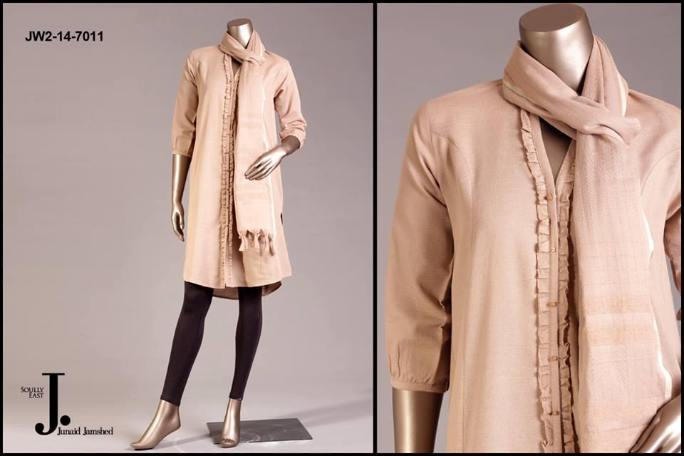 J. Junaid Jamshed Latest Pret Wear Fancy Dresses Collection for Women 2015-2016 (6)