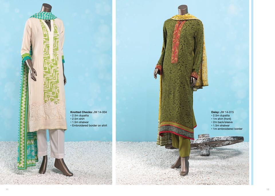 J. Junaid Jamshed Latest Pret Wear Fancy Dresses Collection for Women 2015-2016 (7)