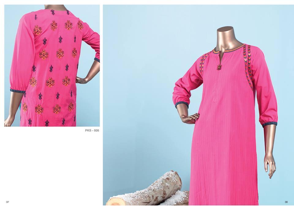 J. Junaid Jamshed Latest Pret Wear Fancy Dresses Collection for Women 2015-2016 (9)