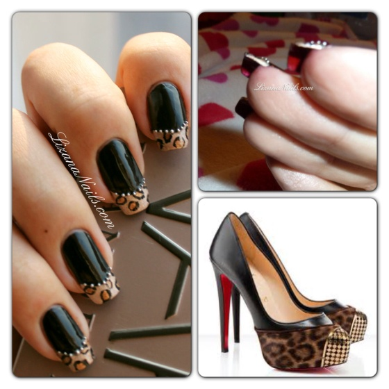 LOUBOUTIN INSPIRED NAIL ARTS - romantic nail art designsBest & Beautiful Nail Art Designs & Ideas to Spice up your Valentines Day (2)