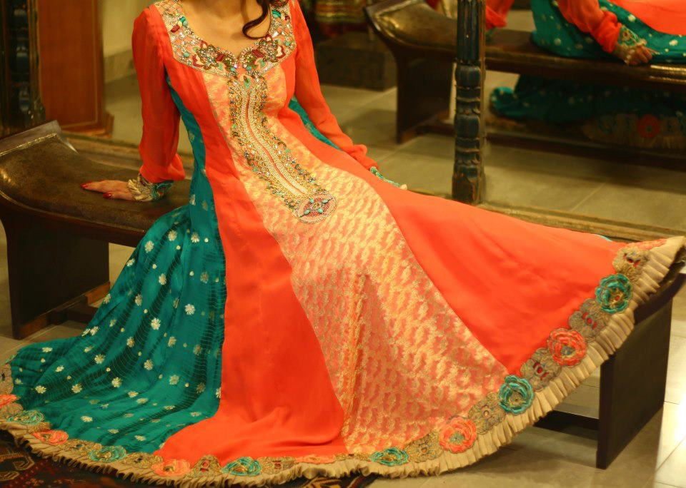 Latest Collection of Air Line Frock Dresses designs & shirts styles for Women 2015-2016 (18)