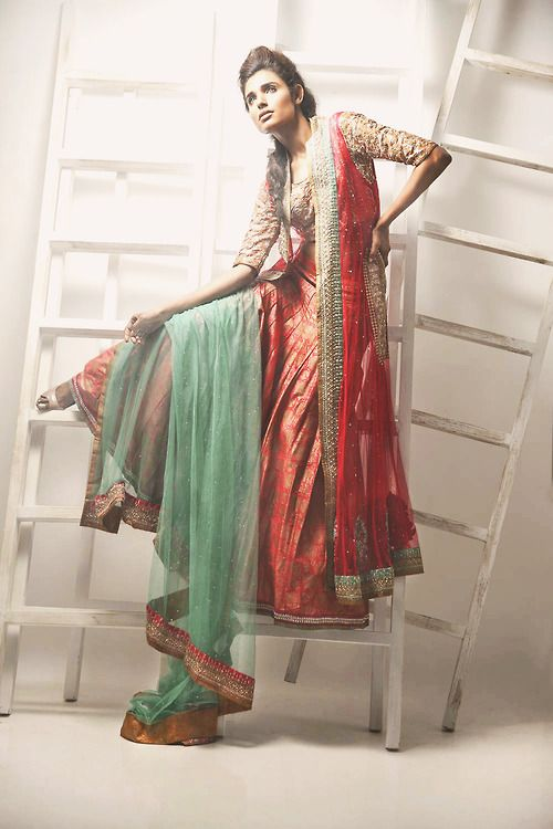 Latest Collection of Air Line Frock Dresses designs & shirts styles for Women 2015-2016 (19)