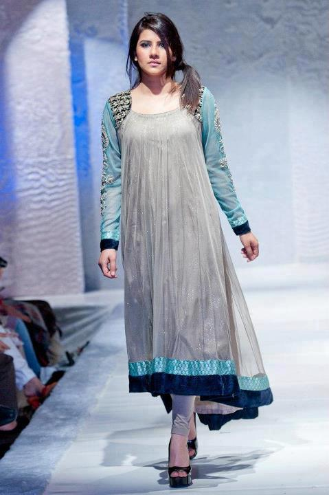 Latest Collection of Air Line Frock Dresses designs & shirts styles for Women 2015-2016 (21)
