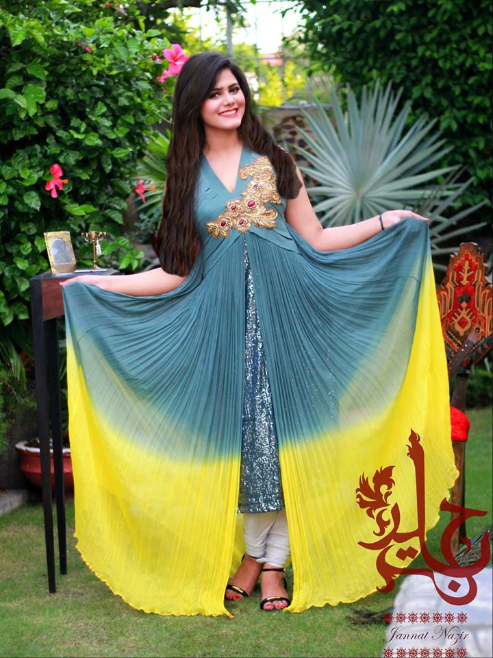 Latest Collection of Air Line Frock Dresses designs & shirts styles for Women 2015-2016 (22)