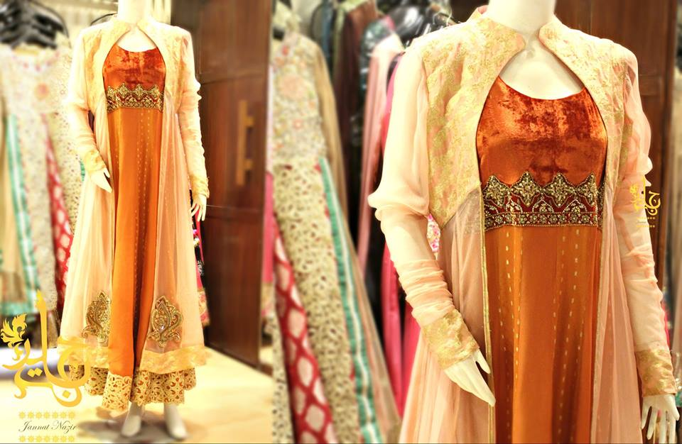 Latest Collection of Air Line Frock Dresses designs & shirts styles for Women 2015-2016 (24)