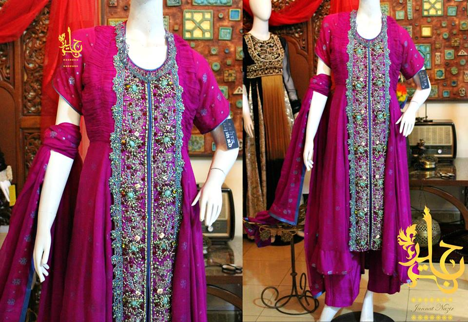 Latest Collection of Air Line Frock Dresses designs & shirts styles for Women 2015-2016 (28)
