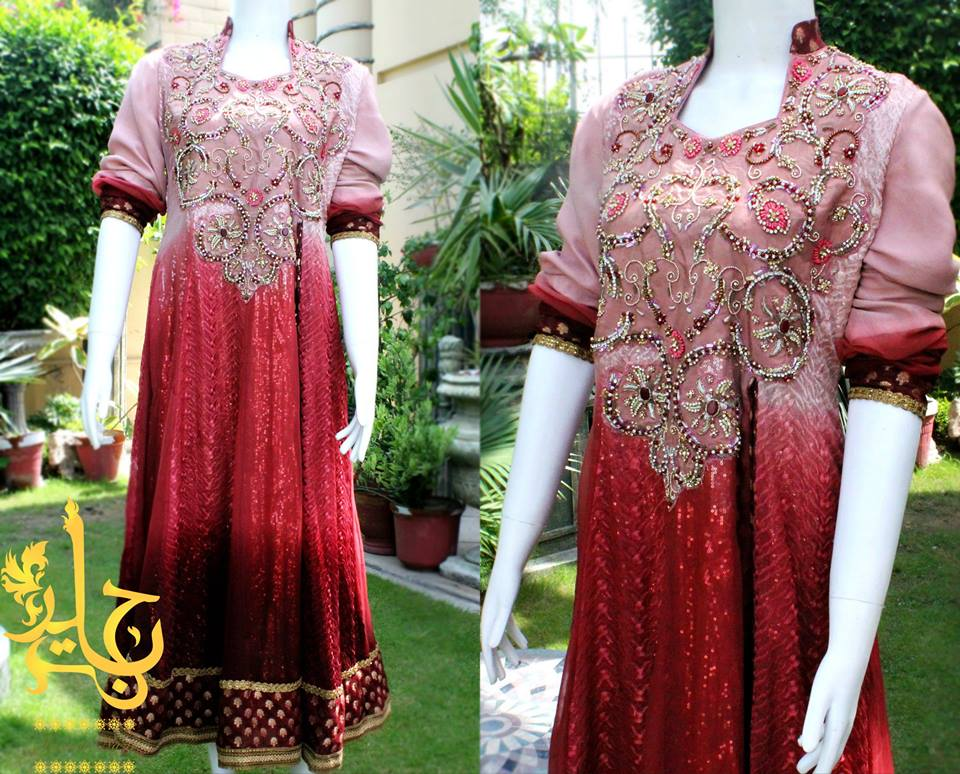 Latest Collection of Air Line Frock Dresses designs & shirts styles for Women 2015-2016 (29)