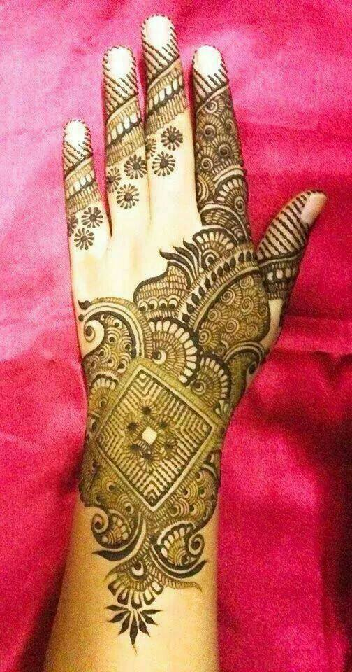 Stylish & Trendy Arabic Mehandi Designs Collection for Hands & Feet 2015-2016 (10)