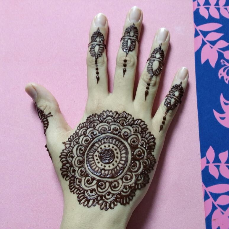 Stylish & Trendy Arabic Mehandi Designs Collection for Hands & Feet 2015-2016 (12)