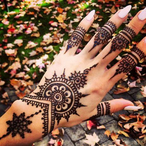 Stylish & Trendy Arabic Mehandi Designs Collection for Hands & Feet 2015-2016 (13)