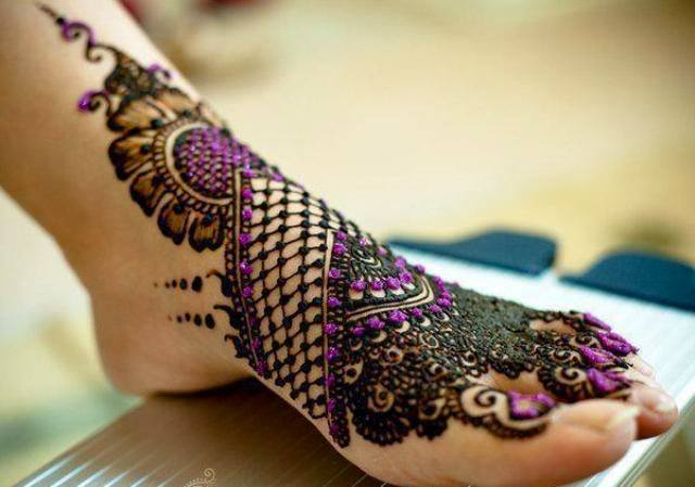 Stylish & Trendy Arabic Mehandi Designs Collection for Hands & Feet 2015-2016 (18)