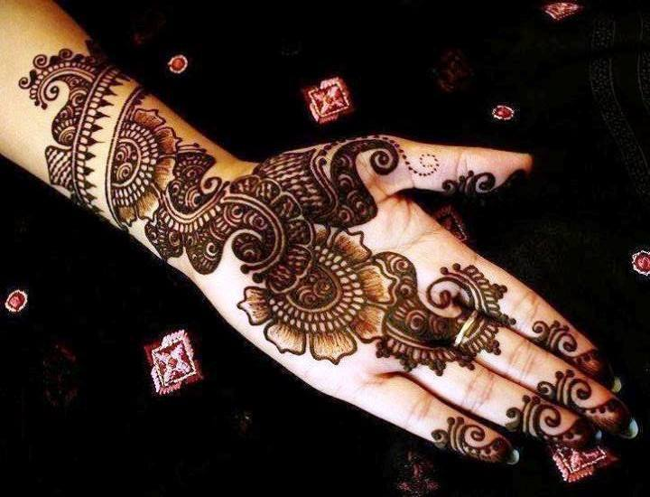 Stylish & Trendy Arabic Mehandi Designs Collection for Hands & Feet 2015-2016 (20)