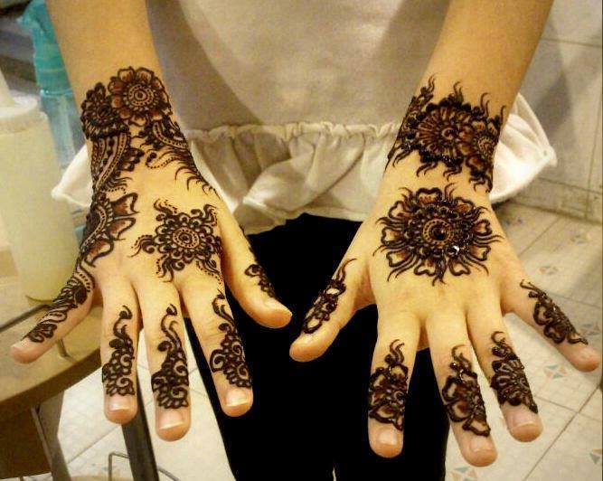 Stylish & Trendy Arabic Mehandi Designs Collection for Hands & Feet 2015-2016 (21)