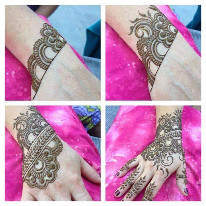 Stylish & Trendy Arabic Mehandi Designs Collection for Hands & Feet 2015-2016 (22)
