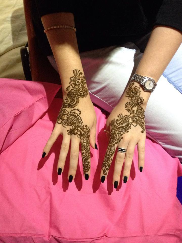 Stylish & Trendy Arabic Mehandi Designs Collection for Hands & Feet 2015-2016 (27)